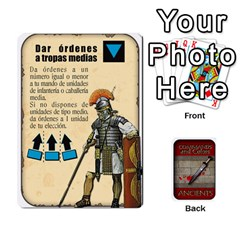 Ace Commandcolorsancients1 By Jordi Diaz Jose   Playing Cards 54 Designs   76wwy0j5dtss   Www Artscow Com Front - DiamondA