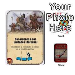 King Commandcolorsancients1 By Jordi Diaz Jose   Playing Cards 54 Designs   76wwy0j5dtss   Www Artscow Com Front - ClubK
