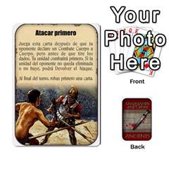 Commandcolorsancients1 By Jordi Diaz Jose   Playing Cards 54 Designs   76wwy0j5dtss   Www Artscow Com Front - Spade8