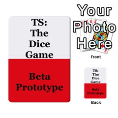 Ts: Tdg V2 By Dustin Gervais   Playing Cards 54 Designs   1bflporbeyh7   Www Artscow Com Back