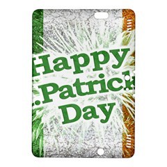 Happy St  Patricks Day Grunge Style Design Kindle Fire Hdx 8 9  Hardshell Case by dflcprints
