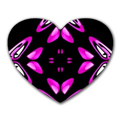 Abstract Pain Frustration Mouse Pad (heart) by FunWithFibro