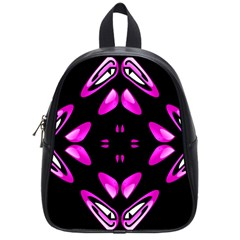 Abstract Pain Frustration School Bag (small) by FunWithFibro