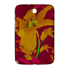 Tropical Hawaiian Style Lilies Collage Samsung Galaxy Note 8 0 N5100 Hardshell Case  by dflcprints