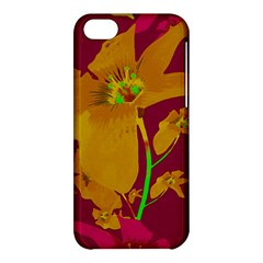 Tropical Hawaiian Style Lilies Collage Apple Iphone 5c Hardshell Case by dflcprints