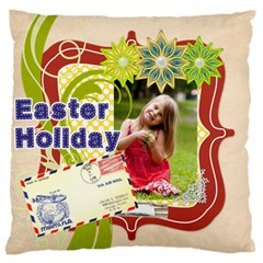 Easter By Easter   Large Flano Cushion Case (two Sides)   St1a808g2w3e   Www Artscow Com Front