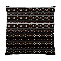 Tribal Dark Geometric Pattern03 Cushion Case (two Sided)  by dflcprints