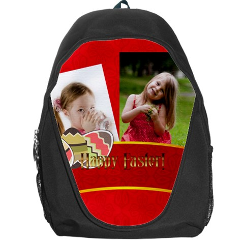 Easter By Easter   Backpack Bag   K3ntf598ocbk   Www Artscow Com Front