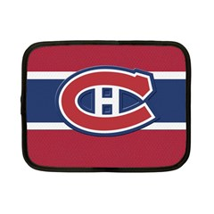 Montreal Canadiens Jersey Style  Netbook Sleeve (small) by blueshirtdesigns