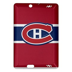 Montreal Canadiens Jersey Style  Kindle Fire HD (2013) Hardshell Case by blueshirtdesigns