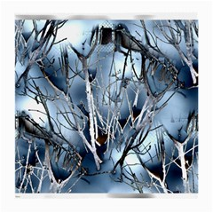 Abstract Of Frozen Bush Glasses Cloth (medium, Two Sided) by canvasngiftshop