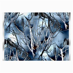 Abstract Of Frozen Bush Glasses Cloth (large, Two Sided) by canvasngiftshop