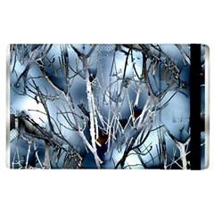 Abstract Of Frozen Bush Apple Ipad 2 Flip Case by canvasngiftshop