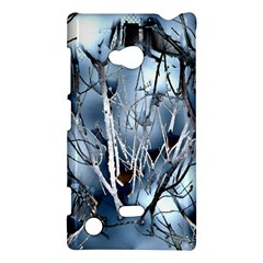Abstract Of Frozen Bush Nokia Lumia 720 Hardshell Case by canvasngiftshop