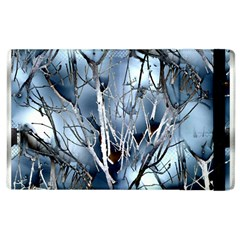 Abstract Of Frozen Bush Apple Ipad 2 Flip Case by canvasngiftshop