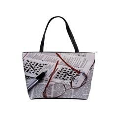 Crossword Genius Large Shoulder Bag by StuffOrSomething