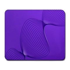 Twisted Purple Pain Signals Large Mouse Pad (rectangle) by FunWithFibro