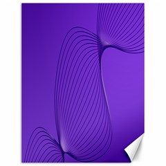 Twisted Purple Pain Signals Canvas 12  x 16  (Unframed) by FunWithFibro