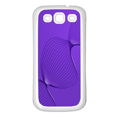Twisted Purple Pain Signals Samsung Galaxy S3 Back Case (white) by FunWithFibro