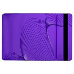 Twisted Purple Pain Signals Apple Ipad Air 2 Flip Case by FunWithFibro