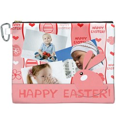 Easter By Easter   Canvas Cosmetic Bag (xxxl)   6xhxy76bump2   Www Artscow Com Front