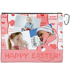Easter By Easter   Canvas Cosmetic Bag (xxxl)   6xhxy76bump2   Www Artscow Com Back