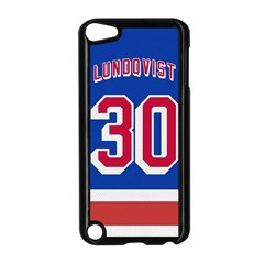 Henrik Lundqvist Jersey Style Device Case Apple Ipod Touch 5 Case (black) by blueshirtdesigns