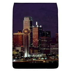 Dallas Skyline At Night Removable Flap Cover (small) by StuffOrSomething