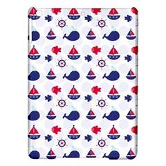 Nautical Sea Pattern Apple Ipad Air Hardshell Case by StuffOrSomething