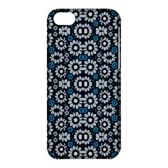 Floral Print Seamless Pattern In Cold Tones  Apple Iphone 5c Hardshell Case by dflcprints