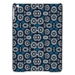 Floral Print Seamless Pattern In Cold Tones  Apple Ipad Air Hardshell Case by dflcprints
