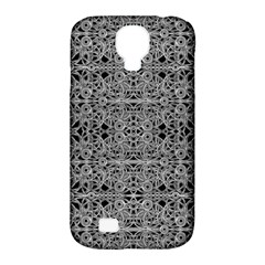 Cyberpunk Silver Print Pattern  Samsung Galaxy S4 Classic Hardshell Case (pc+silicone) by dflcprints