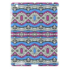 Aztec Style Pattern In Pastel Colors Apple Ipad 3/4 Hardshell Case (compatible With Smart Cover) by dflcprints