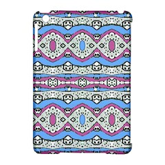 Aztec Style Pattern In Pastel Colors Apple Ipad Mini Hardshell Case (compatible With Smart Cover) by dflcprints