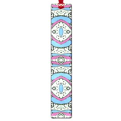 Aztec Style Pattern In Pastel Colors Large Bookmark by dflcprints