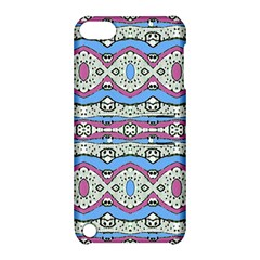 Aztec Style Pattern In Pastel Colors Apple Ipod Touch 5 Hardshell Case With Stand by dflcprints