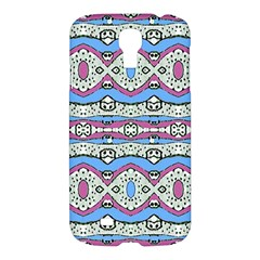 Aztec Style Pattern In Pastel Colors Samsung Galaxy S4 I9500/i9505 Hardshell Case by dflcprints