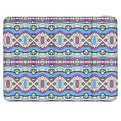 Aztec Style Pattern In Pastel Colors Samsung Galaxy Tab 7  P1000 Flip Case by dflcprints