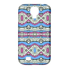 Aztec Style Pattern In Pastel Colors Samsung Galaxy S4 Classic Hardshell Case (pc+silicone) by dflcprints