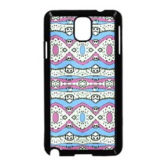 Aztec Style Pattern In Pastel Colors Samsung Galaxy Note 3 Neo Hardshell Case (black) by dflcprints