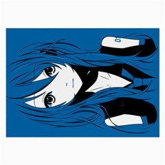 Miku Cloth By Alex Carbonaro   Large Glasses Cloth (2 Sides)   Ld7aclp9xdwc   Www Artscow Com Back