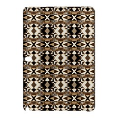 Geometric Tribal Style Pattern In Brown Colors Scarf Samsung Galaxy Tab Pro 12 2 Hardshell Case by dflcprints