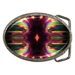 through the valley by saprillika Belt Buckle (Oval) by saprillika