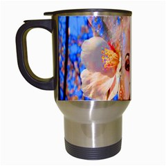 Magic Flower Travel Mug (white) by icarusismartdesigns