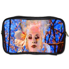 Magic Flower Travel Toiletry Bag (two Sides) by icarusismartdesigns