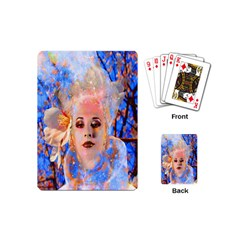 Magic Flower Playing Cards (mini) by icarusismartdesigns