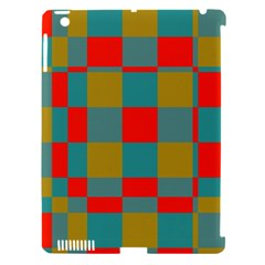 Squares In Retro Colors Apple Ipad 3/4 Hardshell Case (compatible With Smart Cover) by LalyLauraFLM