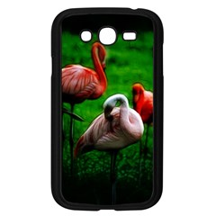 3pinkflamingos Samsung Galaxy Grand Duos I9082 Case (black) by bloomingvinedesign