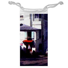 Vintage Paris Cafe Jewelry Bag by bloomingvinedesign