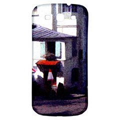 Vintage Paris Cafe Samsung Galaxy S3 S Iii Classic Hardshell Back Case by bloomingvinedesign